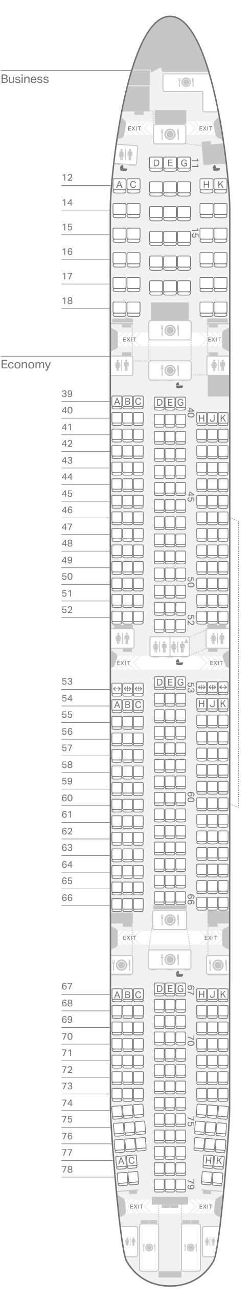 777-300(73Z) seating plan